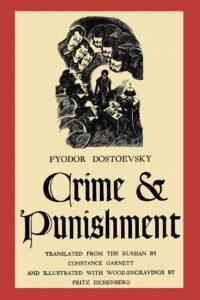 crime punishment dostoevsky canvas print