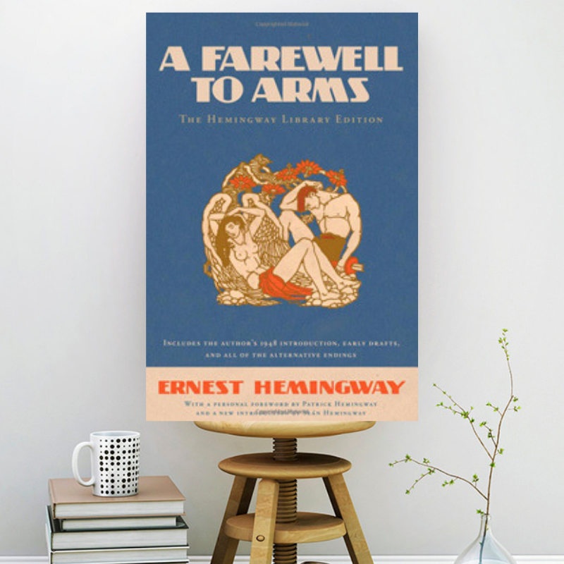 a farewell to arms art print