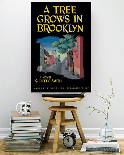 Canvas print a tree grows in brooklyn