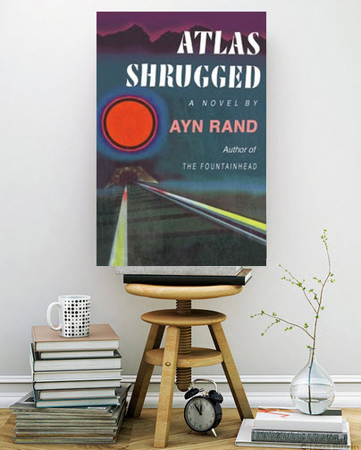 canvas print atlas shrugged