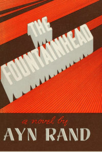 The Fountainhead Ayn Rand Book Cover Art print