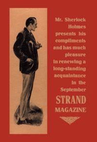 Sherlock Holmes Strand Magazine Art Print.