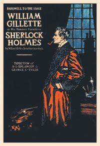 William Gillette Sherlock Holmes Art print