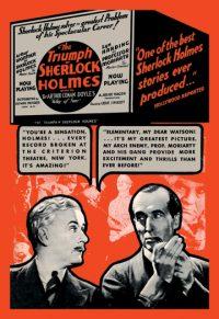 The Triumph of Sherlock Holmes Art prints