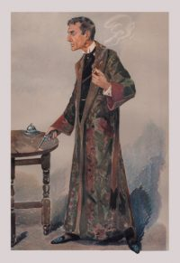 Sherlock Holmes Revolver Art Print