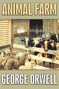 Animal Farm Canvas Wall Art George Orwell