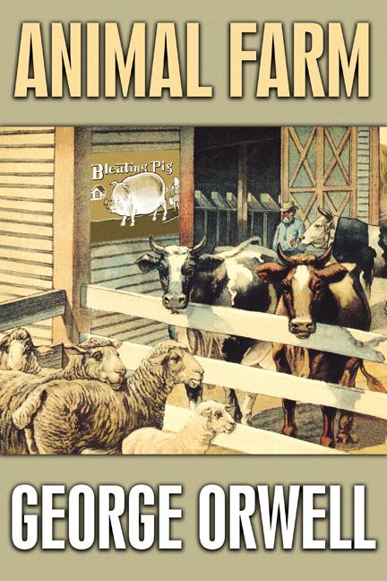 Animal Farm George Orwell Art Print Canvas Wall Art Prints Gallery Wrap Canvas