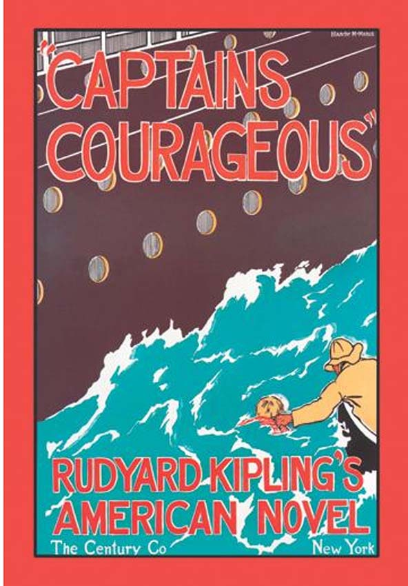 Captains Courageous  By Rudyard Kipling   Illustrated