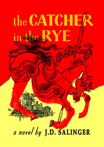 Book Cover Art Prints : The catcher in rye j d salinger posters and canvas