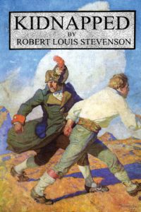 Kidnapped by robert Louis Stevenson Canvas art prints