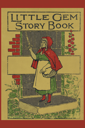 Vintage Book Cover Posters : Little gem story book posters and canvas art prints