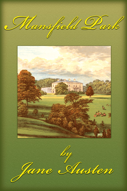 Classic Book Covers On Canvas : Mainsfield park jane austen posters and canvas art