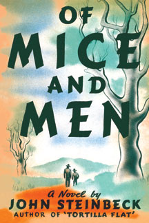 Image result for of mice and men book cover
