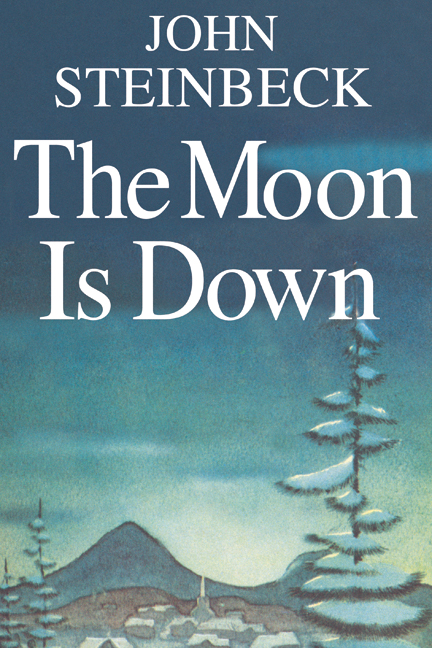 Book Cover Art Prints : The moon is down john steinbeck posters and canvas art