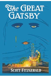 Book cover art print. The Great Gatsby