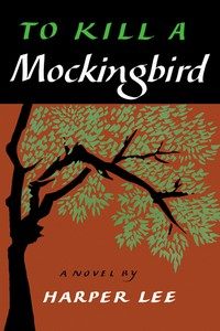 Book cover art print. Tto-kill-a-mockingbird-harper-lee