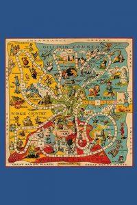 Wizard of Oz original game board