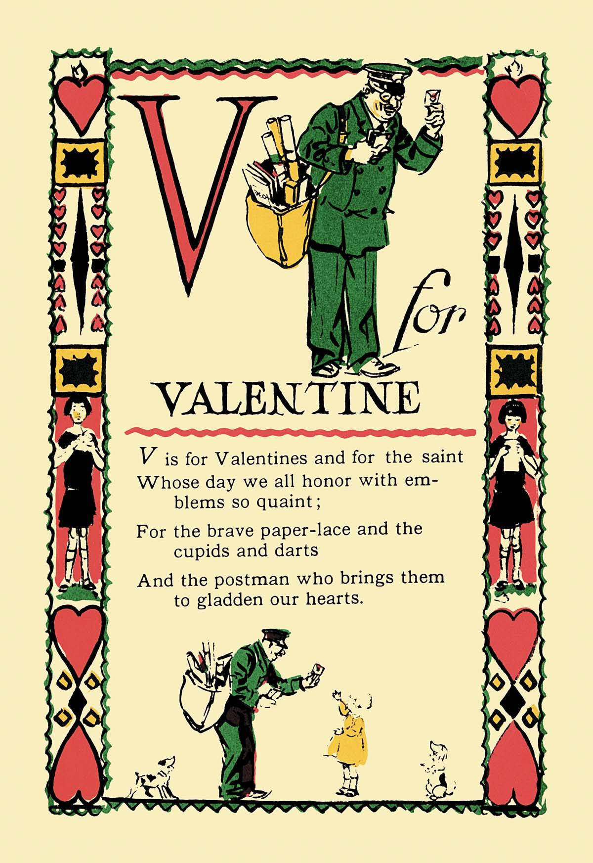 Book Cover Art Canvas ~ V for valentine posters and canvas art prints vintage
