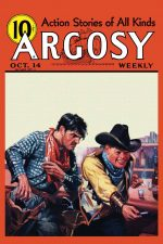 argosy weekly vintage magazine on canvas print