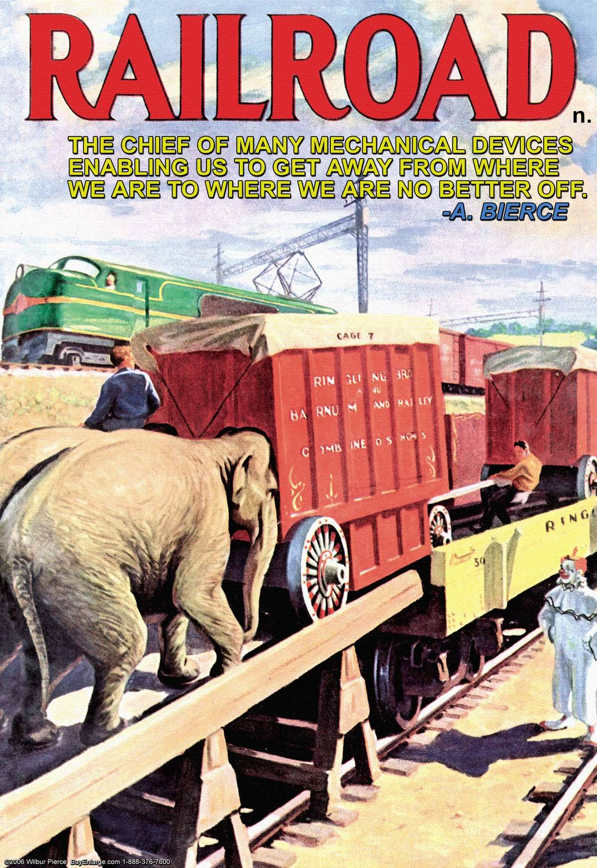 Book Cover Art Canvas ~ Railroad n posters and canvas art prints vintage book