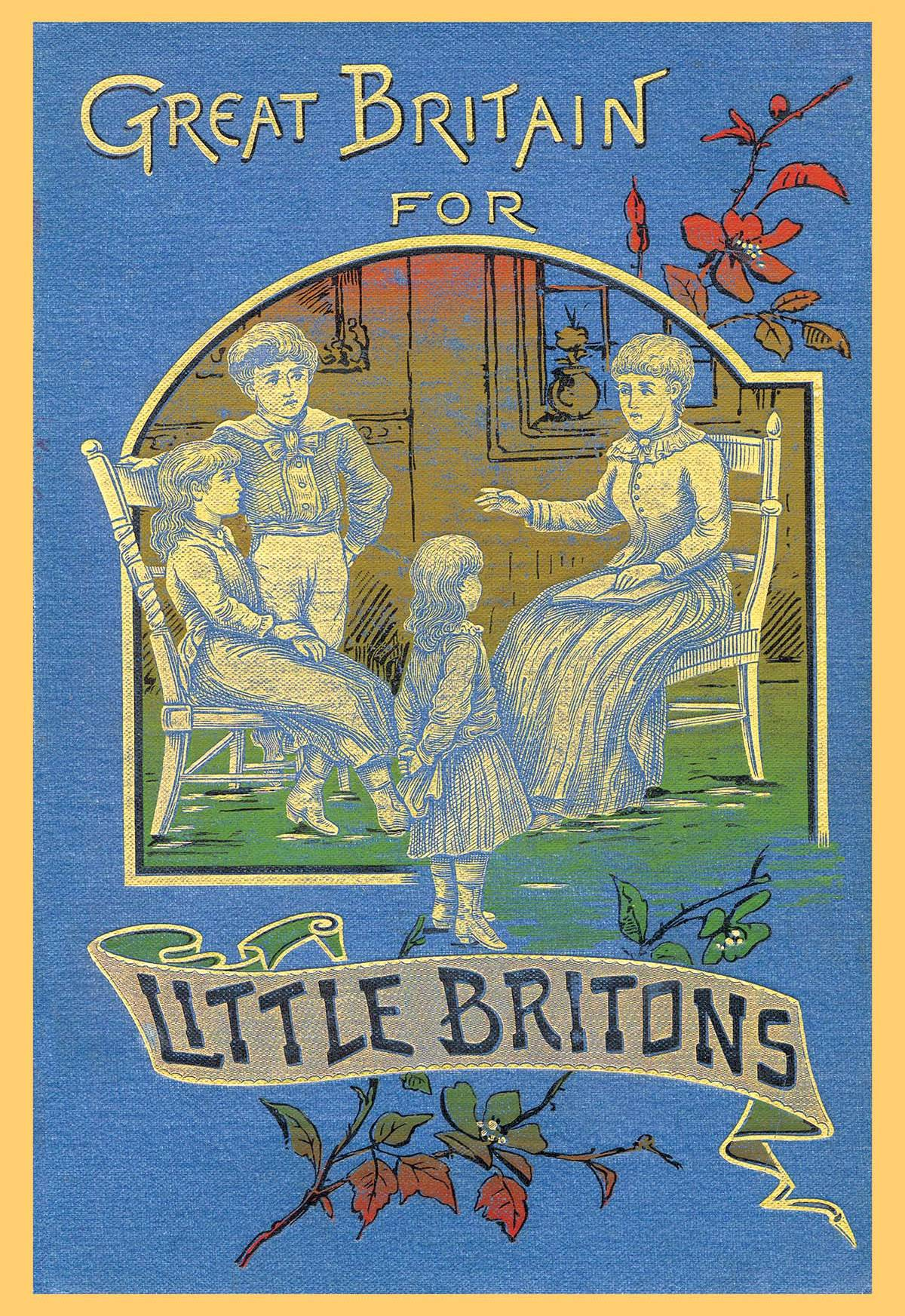 Classic Book Covers On Canvas : Great britain for little britons posters and canvas art