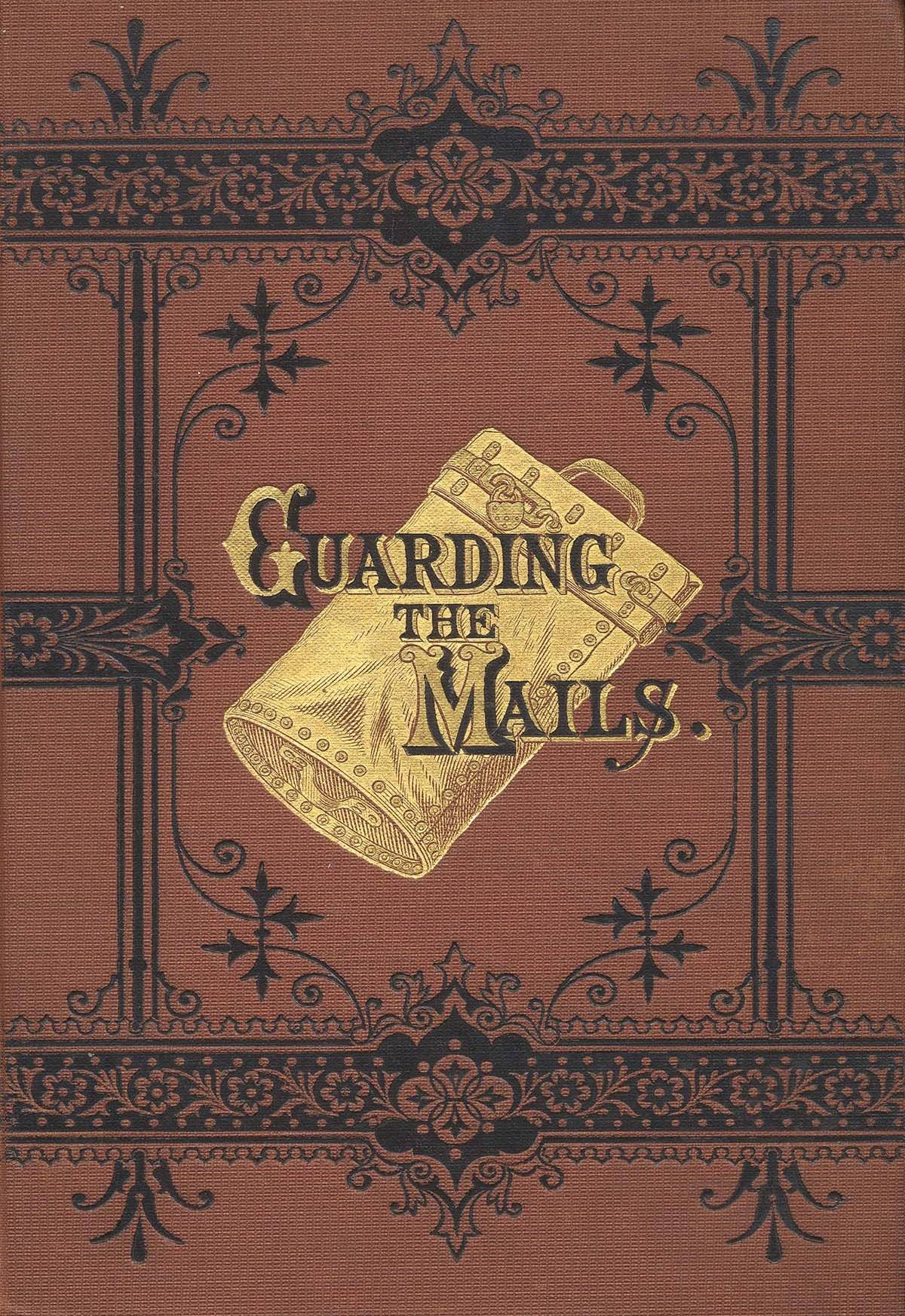 Book Cover Art Canvas ~ Guarding the mails posters and canvas art prints