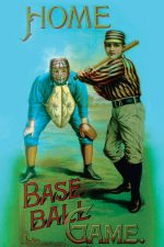 Home Baseball Game art Print