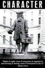 character art print william penn