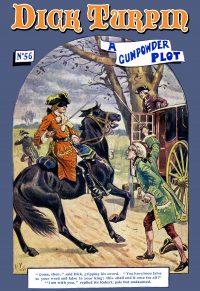 Dick Turpin Pulp Magazine Art print