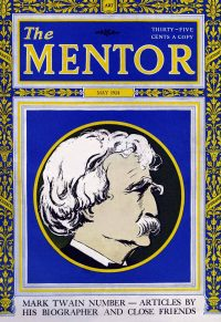 the mentor magazine mark twain