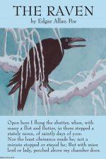 The Raven Edgar Allan Poe Canvas Prints