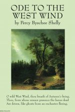 ode to the west wind by Percy Byschee Shelly