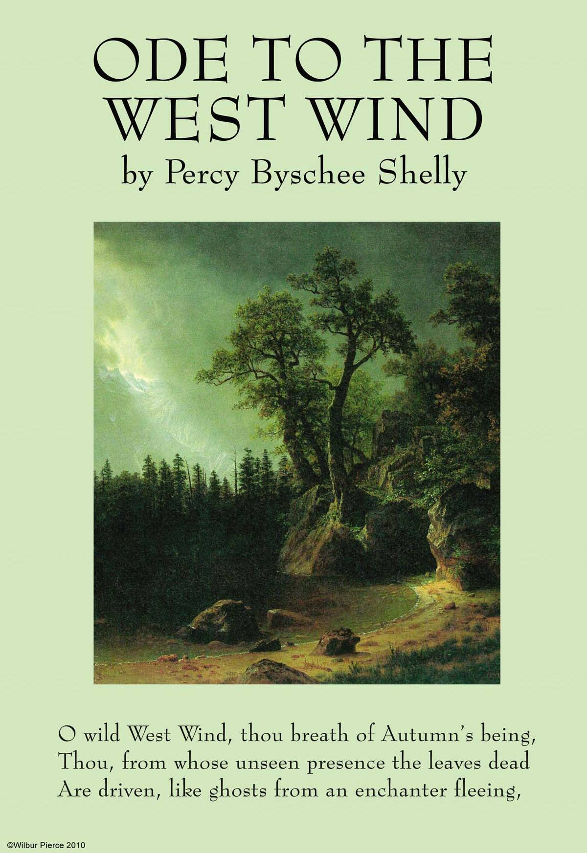 a comparison of ode to the west wind by percy bysshe shelley and ode to a nightingale by john keats Ode to the west wind - percy bysshe shelley ode to the west wind by percy bysshe shelley full poem in hindi john keats- ode to a nightingale.