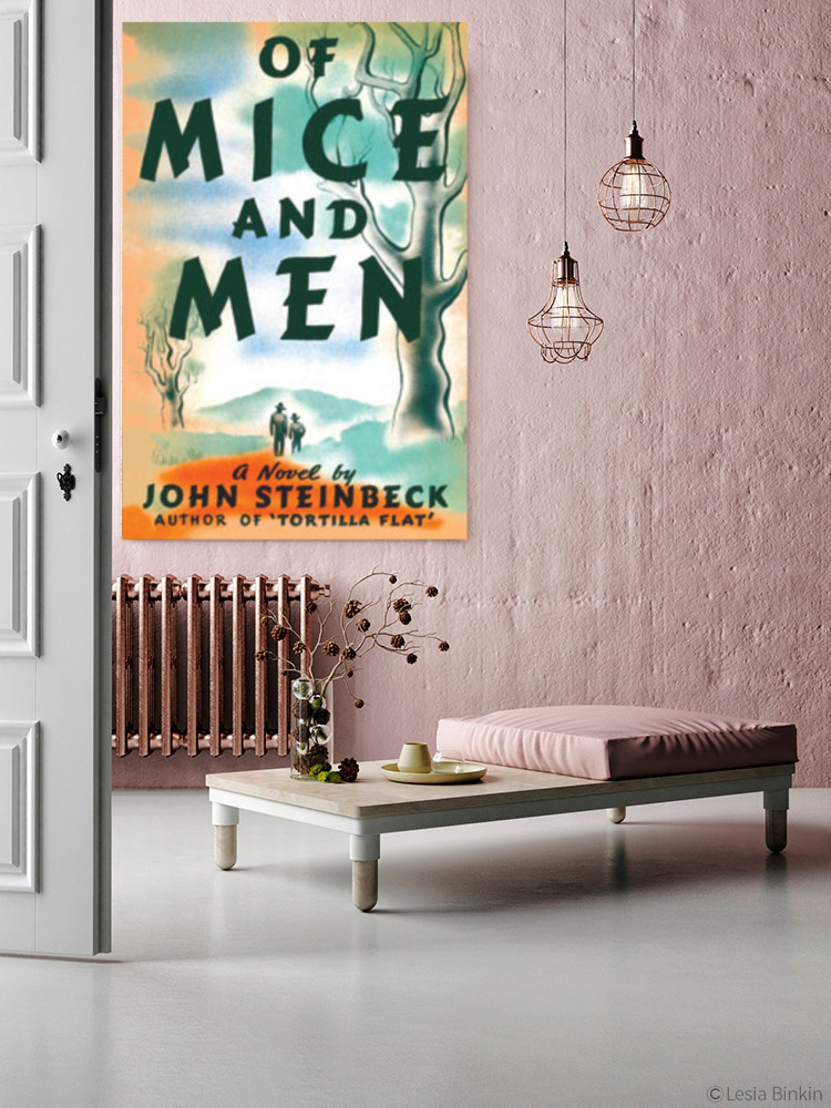 of mice and men canvas prints