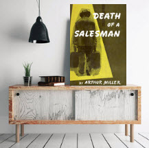 Death of a salesman art print