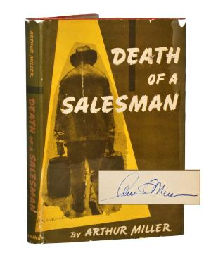 Death of a Salesman Signed Book Copy