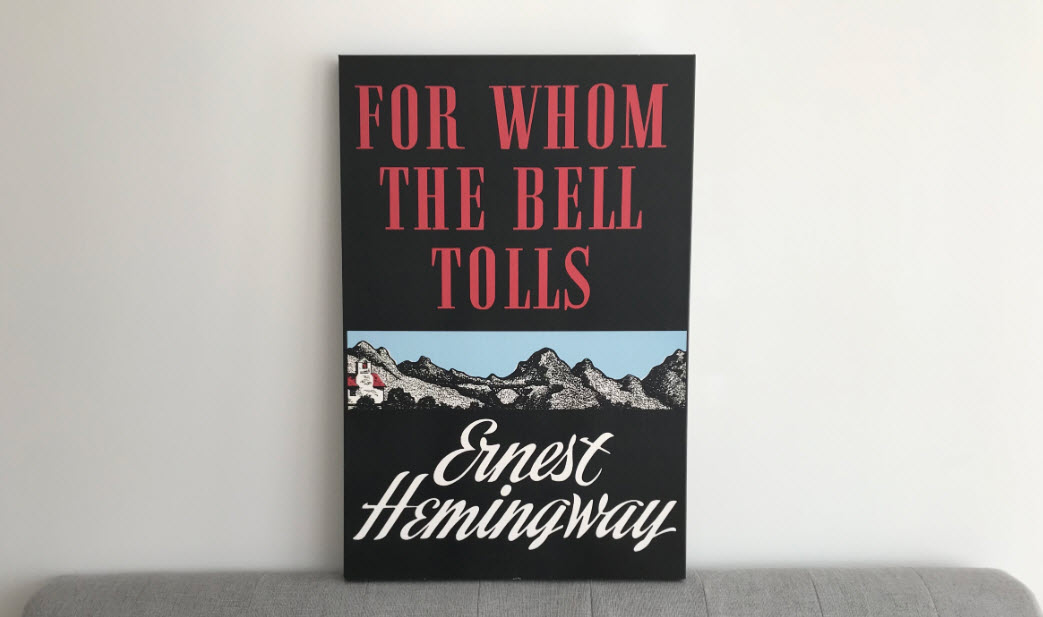 for whom the bell tolls canvas print