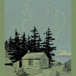 Walden Book Cover Art Print